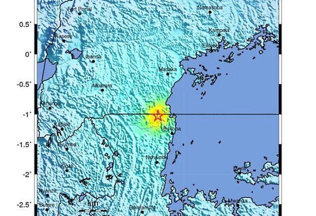 Trzęsienie ziemi w Tanzanii