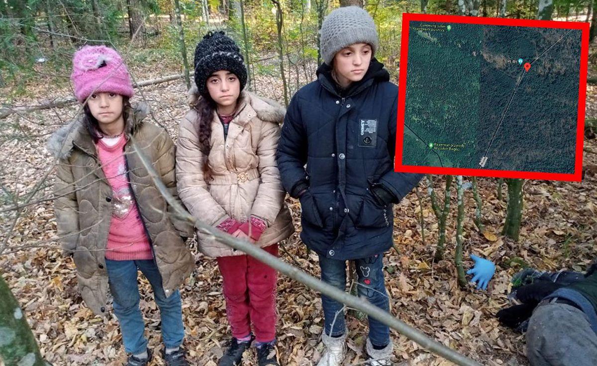 Dzieci z Michałowa odnalezione na granicy. Wirtualna Polska dotarła do członków tej grupy migrantów