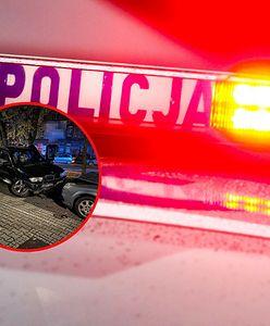 Pijana uciekała autem przed policją. Staranowała 3 samochody