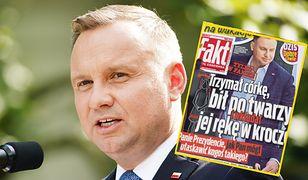 """""""Wiadomości"""" bronią Andrzeja Dudy po kontrowersyjnej okładce """"Faktu"""""""