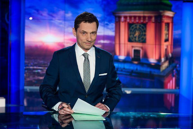 """Krzysztof Ziemiec znów na urlopie. W TVP huczy: nie wróci do """"Wiadomości""""?"""