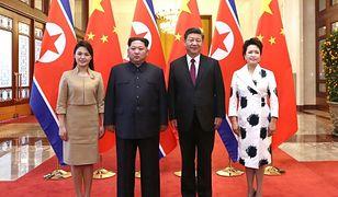 Pierwsza taka wizyta żony Kim Dzong Una