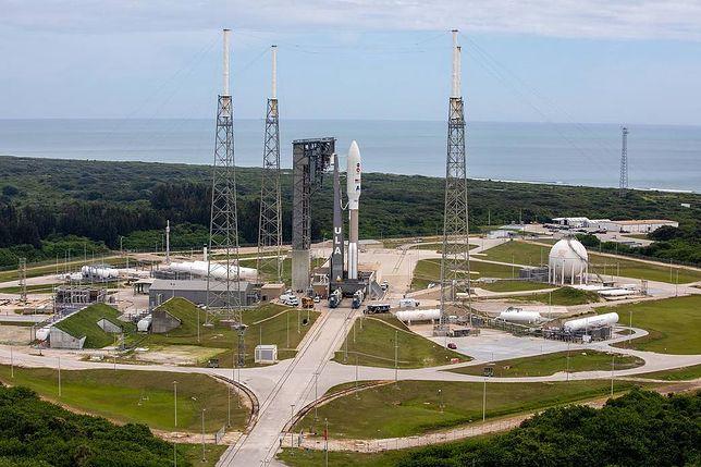 Zdjęcie zrobione tuż przed startem misji Mars 2020