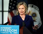 Hillary Clinton obiecuje pomoc dla internautów-dysydentów