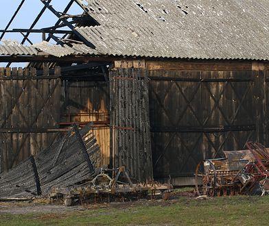 Państwo Leonikowie stracili maszyny rolnicze o wartości 300 tys. zł.