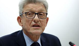Przewodniczący sejmowej komisji sprawiedliwości i praw człowieka Stanisław Piotrowicz (PiS)