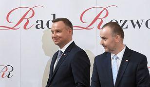 Paweł Mucha podziwia formę prezydenta