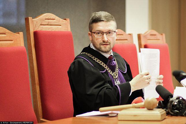 Sędzia Paweł Juszczyszyn nie poniósł konsekwencji przekroczenia prędkości