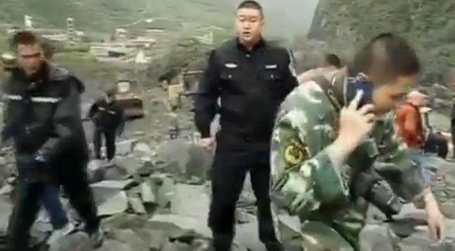 Co najmniej sto ofiar lawiny błotnej w Syczuanie