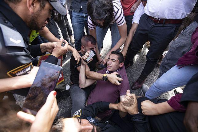 Protesty przeciwko eksmisji w Asz-Szajch Dżarrah