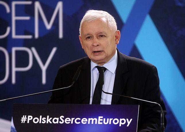 Prezes PiS Jarosław Kaczyński. Wybory do Parlamentu Europejskiego odbędą się 26 maja