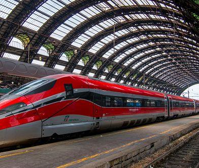 Pijani maszyniści mieli poprowadzić pociąg Frecciarossa (Czerwona Strzała).