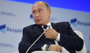 Władimir Putin podczas debaty w Soczi