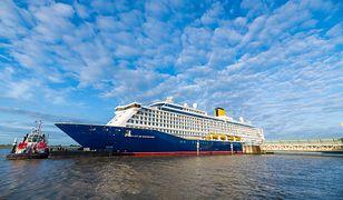 Statek pasażerski należy do linii Saga Cruises. Został oddany do użytku w maju 2019 r.