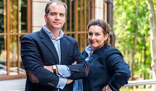 Rodzeństwo Nicolas i Helena Mańkowscy – potomkowie ostatniego właściciela kurortu hrabiego Adama Stadnickiego