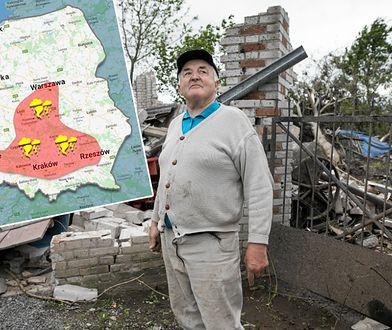 Polska aleja tornad. Sprawdź, czy jest na niej twój dom