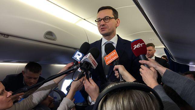 Premier Morawiecki uniknął swojego pierwszego poważnego kryzysu wizerunkowego. Ale problem jest