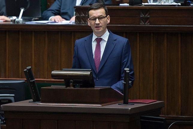 Mateusz Morawiecki nie tylko napisał plan rządu. Zapowiedział też kogo zwolni