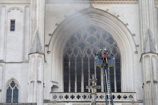 Francja. Pożar w katedrze św. Piotra i Pawła w Nantes. Prokurator mówi o przestępstwie