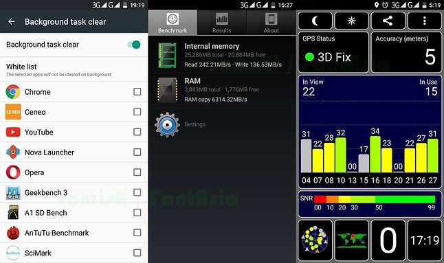 Opcje dodatkowego przycisku / A1 SD Bench / GPS
