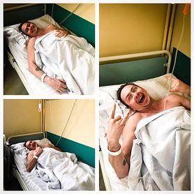 Michał Pałubski miał raka jądra. Apeluje do fanów, żeby się badali