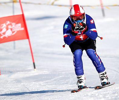 Prezydent na nartach w Zakopanem. Slalom dla dzieci