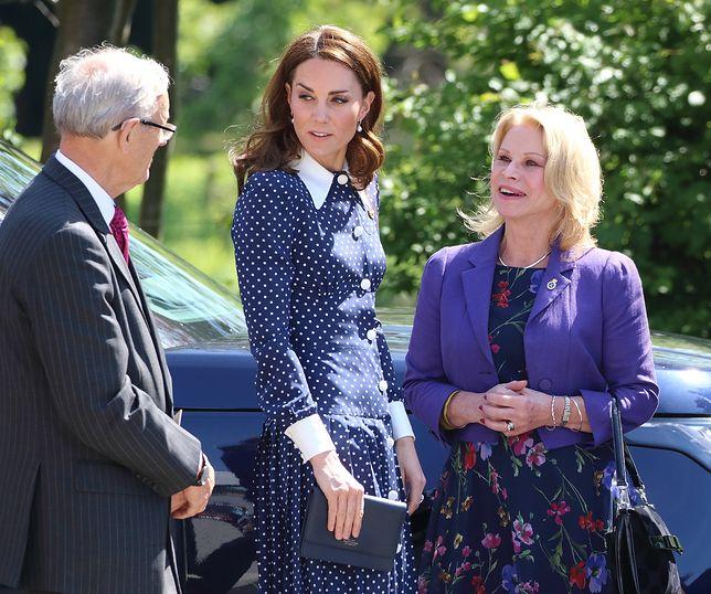 Księżna Kate znalazła się w niekomfortowej sytuacji