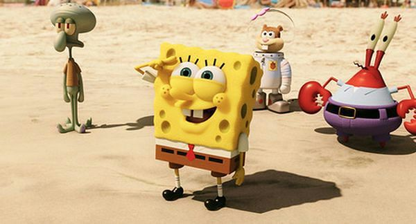 Box office USA: Spongebob podbija kina