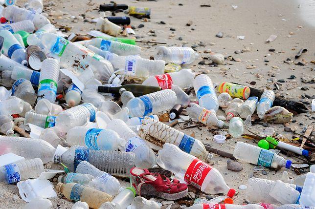 Plastik w oceanach to olbrzymi problem