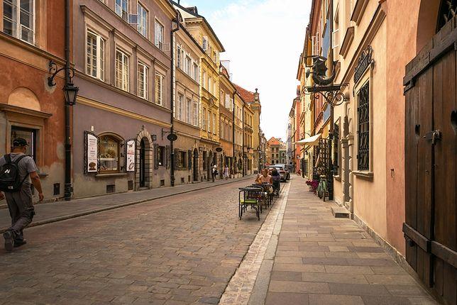 Na pierwszym miejscu rankingu znalazła się ul. Nowy Świat w Warszawie