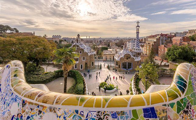 Antoni Gaudi - twórca parku Guell