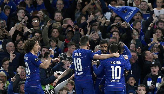 7ddae648f Liga Europy 2019. Chelsea FC w finale! Eintracht odpadł po rzutach karnych