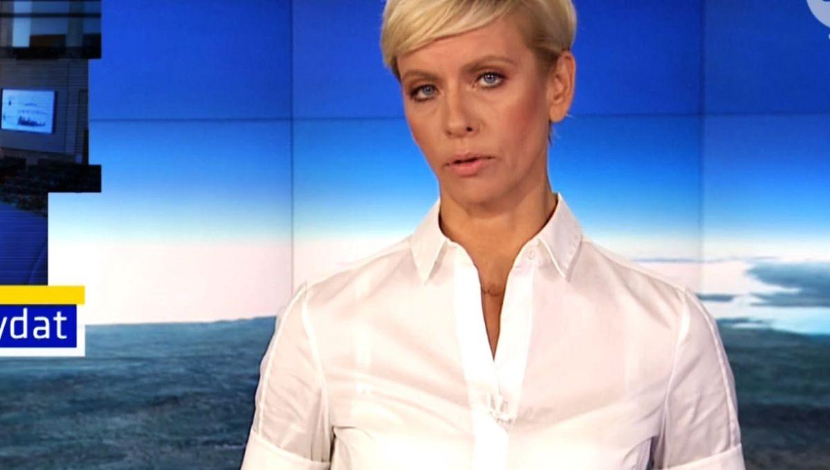 Anita Werner pracuje w TVN24 od początku istnienia stacji