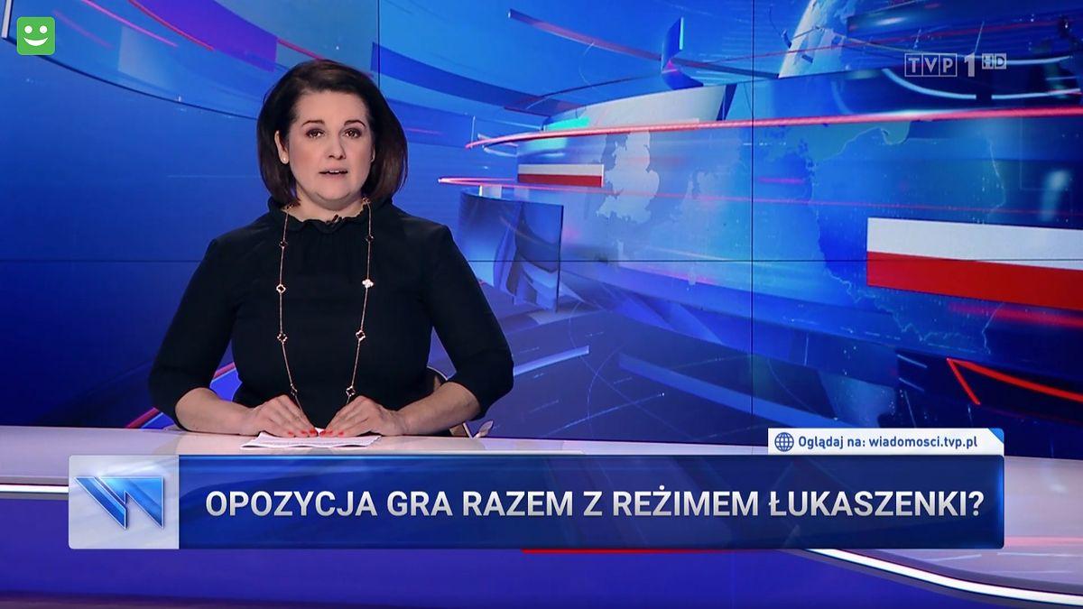 """Frasyniuk, Kajdanowicz i politycy opozycji byli antybohaterami reportażu """"Wiadomości"""""""