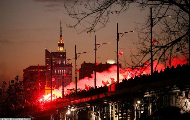 Narodowe Święto Niepodległości. Ulicami stolicy przeszedł Marsz Niepodległości