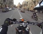 Superretards i pościg policyjny w Sztokholmie