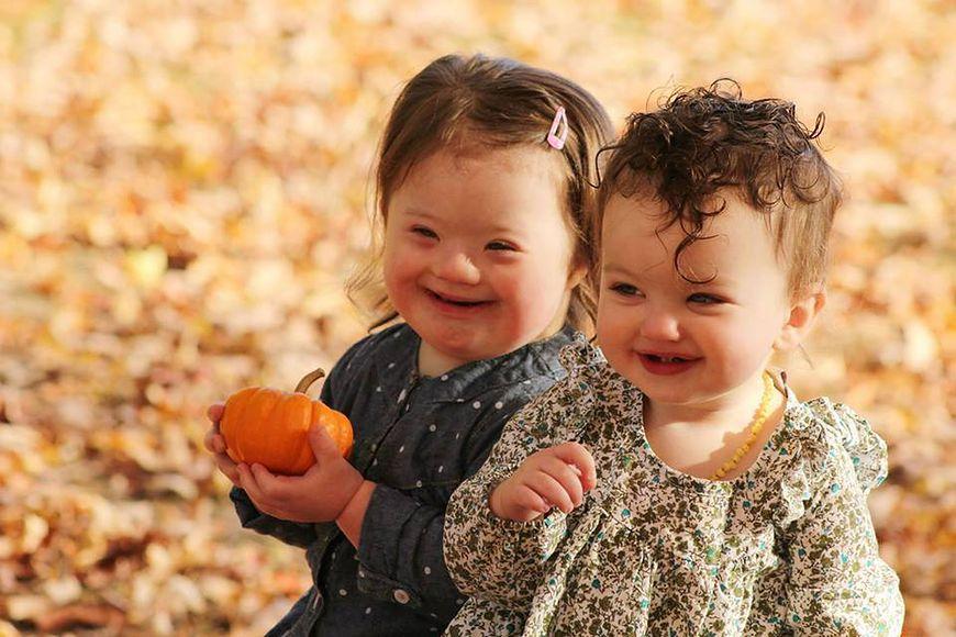 Galeria zdjęć dzieci z Zespołem Downa