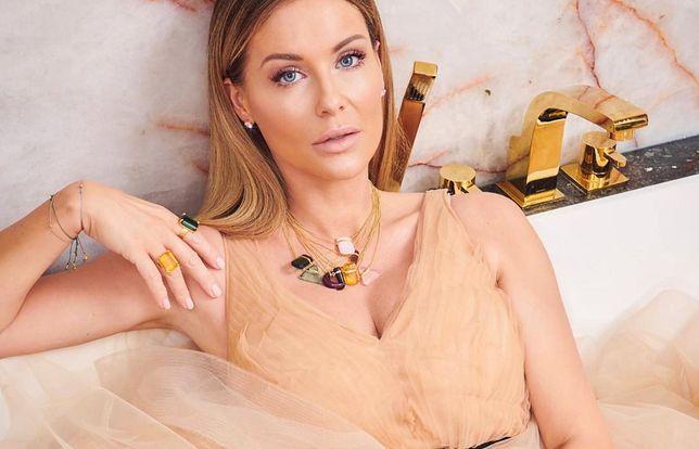 Małgorzata Rozenek-Majdan pokazała się w domowej wersji.