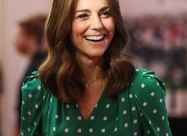 Księżna Kate bawi w Irlandii. Nie bez powodu postawiła na zieleń