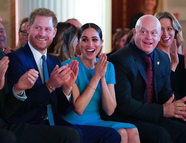 Książęca para przyjechała do Londynu na rozdanie nagród