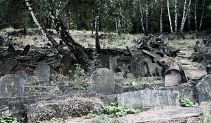 Fotostory: macewy na cmentarzu żydowskim