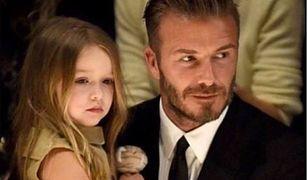 David Beckham z córeczką Harper. Dziewczynka skończyła 7 lat