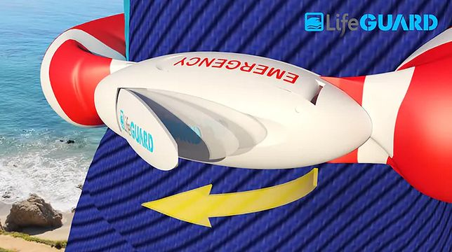 Pas Lifeguard Swim Belt posiada wiele zalet - przede wszystkim będzie tani
