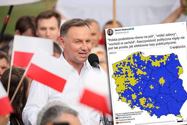 Wyniki wyborów 2020. Andrzej Duda z poparciem w większości gmin (zdjęcie ilustracyjne)
