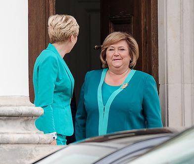 Anna Komorowska i Agata Duda spotkały się w Belwederze