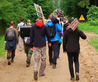 Leśnicy wycenili blokadę wycinek w Puszczy. Wzywają protestujących do płacenia