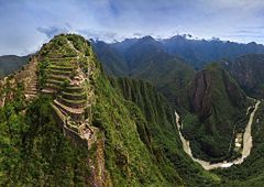 Machu Picchu - otulona mgłami perła Peru