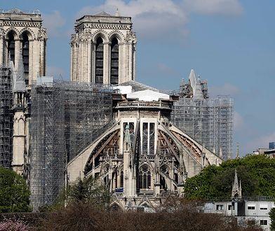 Tak wygląda odbudowa katedry Notre Dame w Paryżub