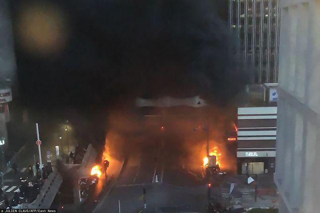 Paryż. Pożar został ugaszony