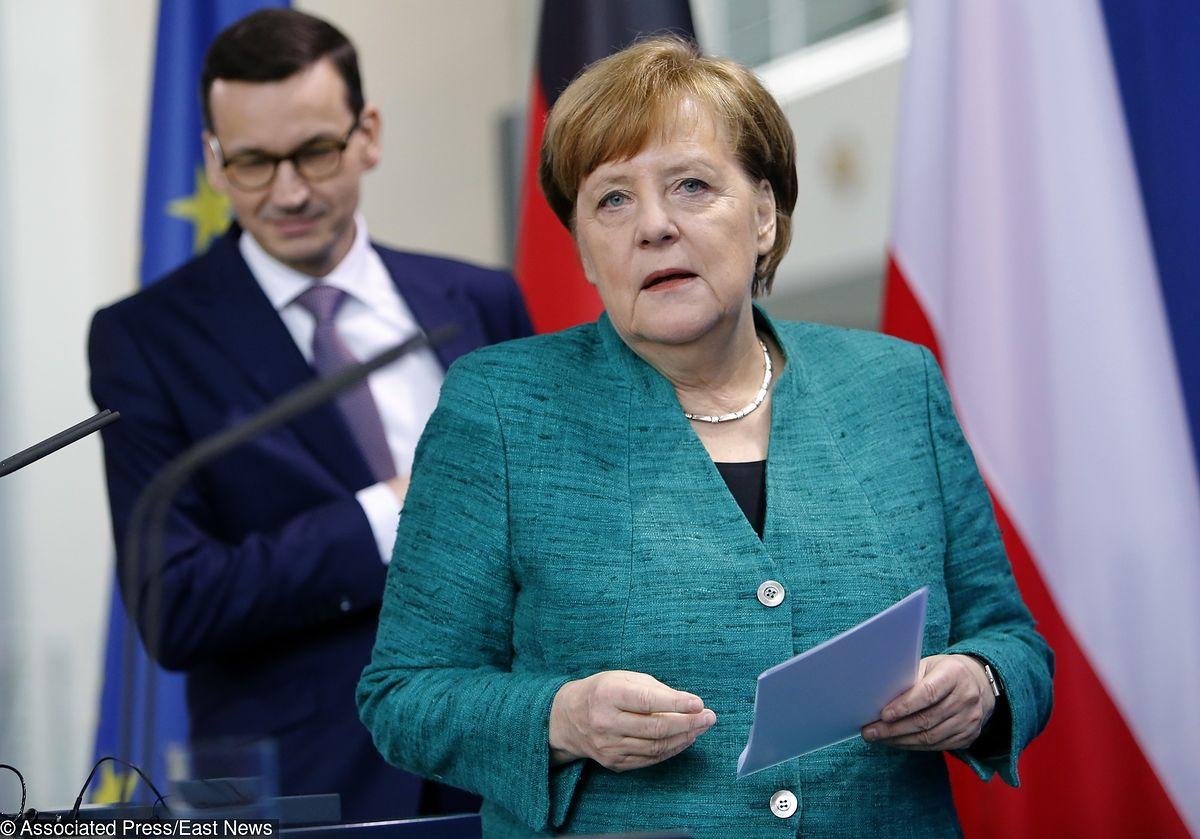 Kanclerz Niemiec przylatuje do Warszawy. Merkel spróbuje przemówić Polakom do rozumu